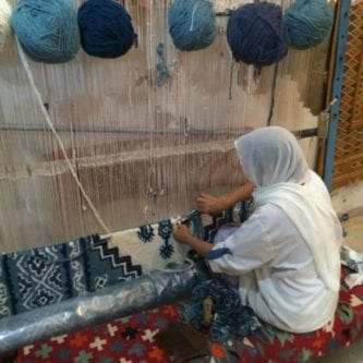 WEAVING-WOMAN