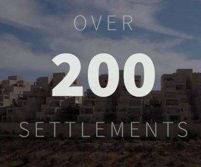 Los asentamientos israelíes