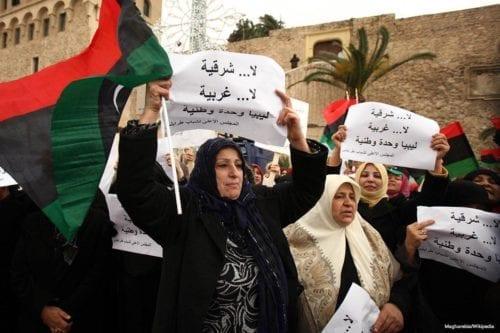 Libia: igualdad de género repartida a domicilio