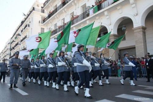 62º Aniversario de la guerra de independencia de Argelia