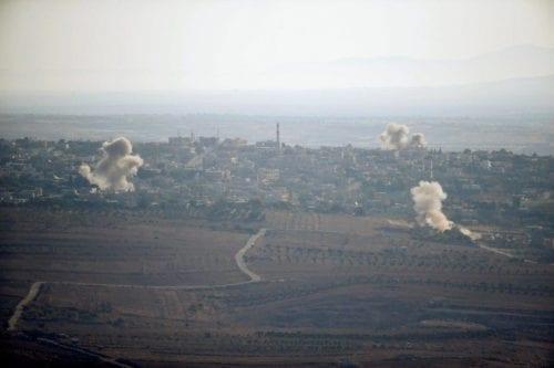 9 combatientes pro-régimen mueren en un bombardeo israelí en Siria