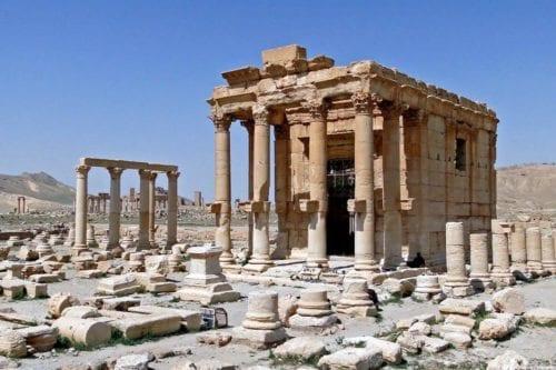 El patrimonio histórico sirio a través de la guerra