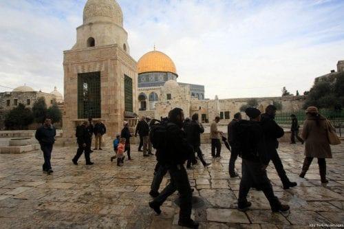 Activistas palestinos hacen un llamamiento para proteger Al-Aqsa