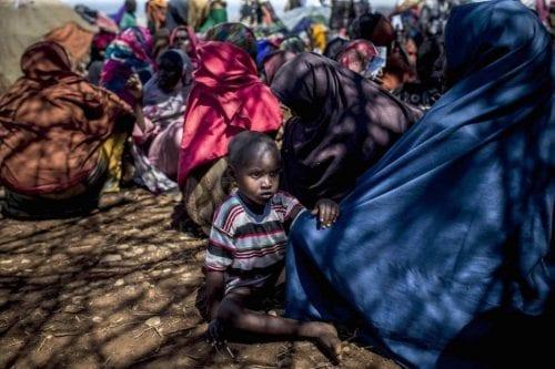 Sequía extrema en Somalia