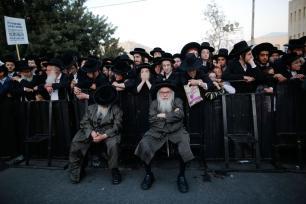 Ultraortodoxos judíos se manifiestan en Jerusalén contra el servicio militar…