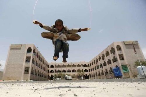 Luchando por salvar escuelas en tiempos de guerra