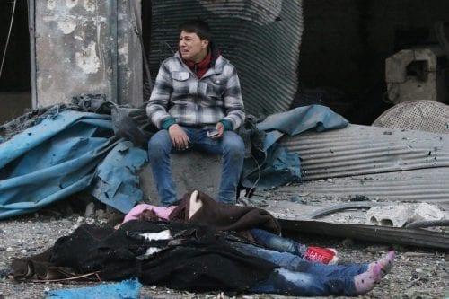 Las vidas sirias no valen nada comparadas con las nuestras