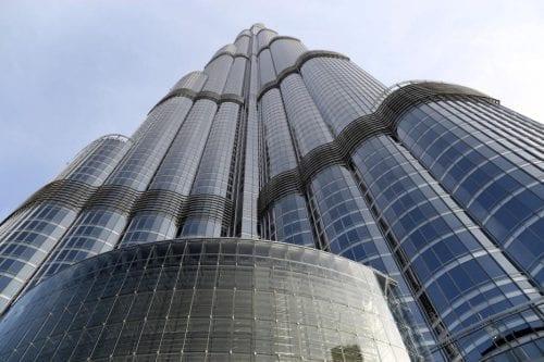 Dubai a vista de pájaro