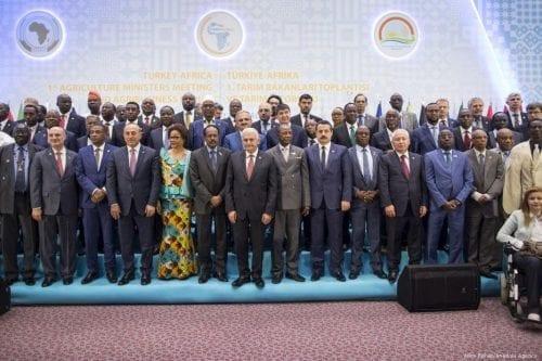 Primer Encuentro de Ministros de Agricultura Turquía-África