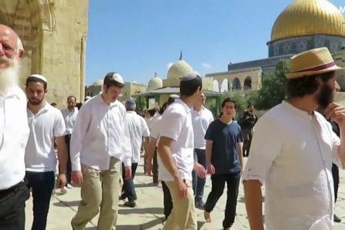 Israelíes irrumpen en el Complejo de Al-Aqsa al calor de…
