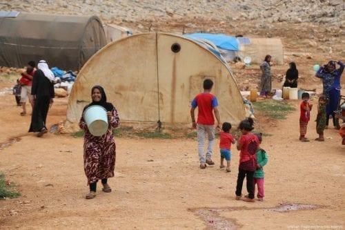 Víspera del fin de Ramadán en Idlib