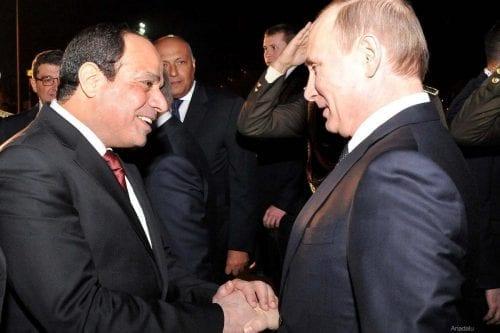 Rusia propondrá un acuerdo militar con Egipto