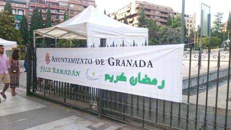 Polémica islamófoba en Granada, Sello de la unidad de España