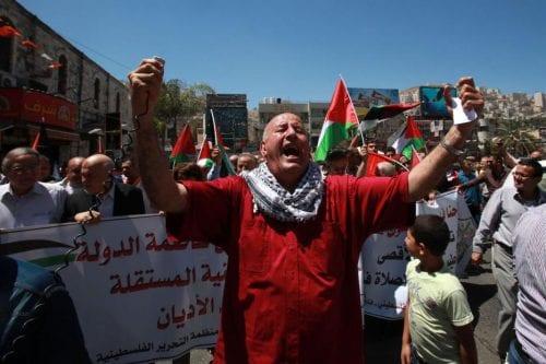 Protestas y disturbios en toda Palestina ante las vulneraciones del…