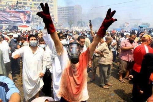 Recordamos a los manifestantes egipcios gaseados