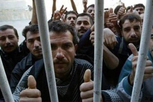 520 palestinos detenidos por Israel en julio