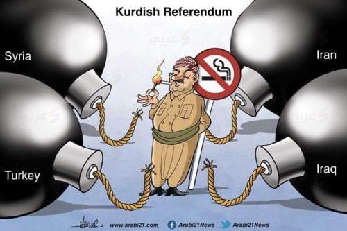 Irán y Turquía se enfrentan al referéndum de independencia kurdo
