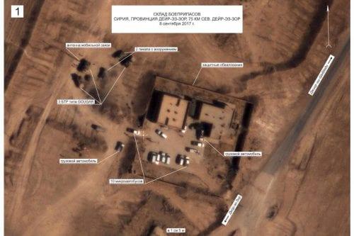 Imágenes publicadas por el Ministerio de Defensa ruso