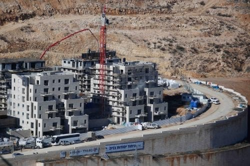 436.000 colonos israelíes viven en Cisjordania