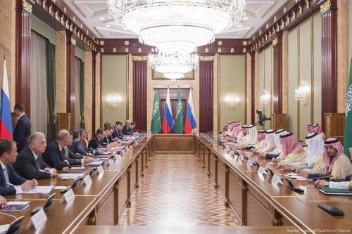 No hay ningún acercamiento entre Rusia y Arabia Saudí