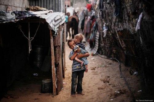 La tasa de pobreza en Gaza supera ya el 80%