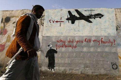 Los yemeníes usan el graffity para denunciar el drama de…