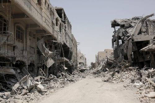La subasta pública secreta de la 'reconstrucción' de Mosul
