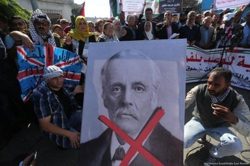 Cien años después de la Declaración Balfour, la política exterior…