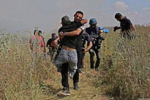 Las fuerzas de ocupación israelíes dejan 900 heridos y cuatro…