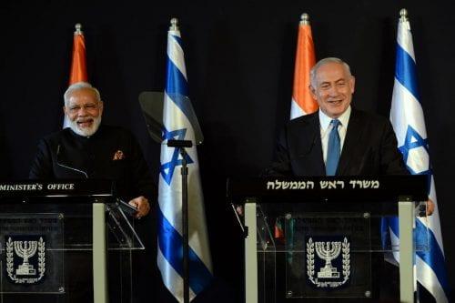 Las relaciones entre Israel y la India mejoran notablemente