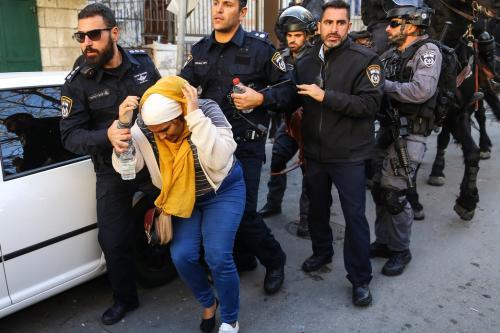 50 detenidos en Jerusalén desde la declaración de Trump