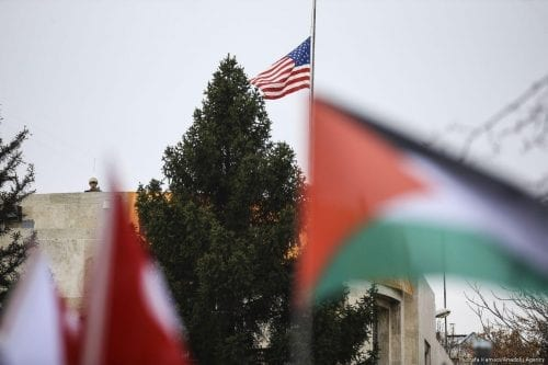 El traslado de la embajada de Estados Unidos a Jerusalén…