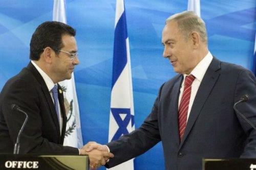 La decisión de Guatemala de trasladar su embajada a Jerusalén:…