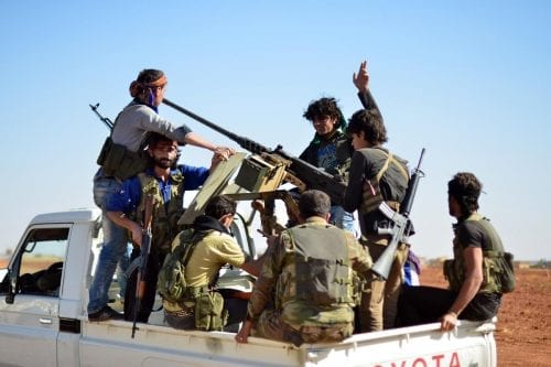 El Ejército Libre Sirio busca la reanudación de la financiación…