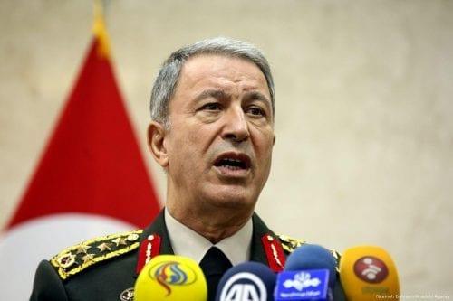 """El jefe del Estado Mayor de Turquía: """"No permitiremos que…"""