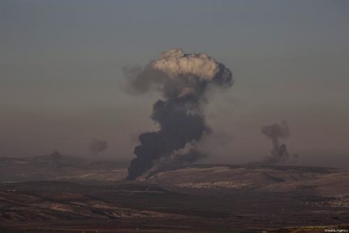 Turquía bombardea la región de Afrín