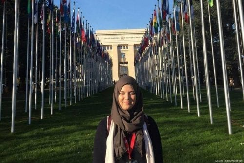 """Salam Kedan, activista pacifista: """"No tenía ni idea de que…"""