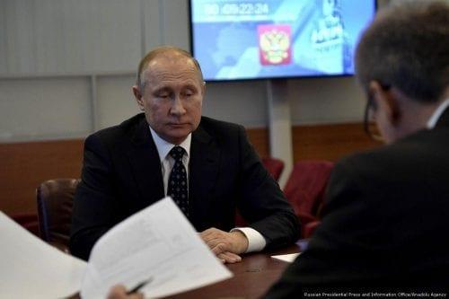 Putin y sus tres socios