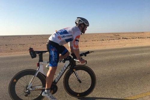 """Recorre 1.300 kilómetros en 48 horas en bicicleta porque """"la…"""