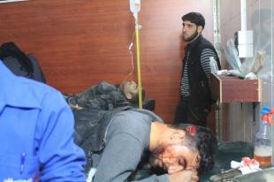 El régimen sirio ataca Ghouta de nuevo