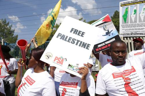Sudáfrica tiene la intención de cortar las relaciones diplomáticas con…