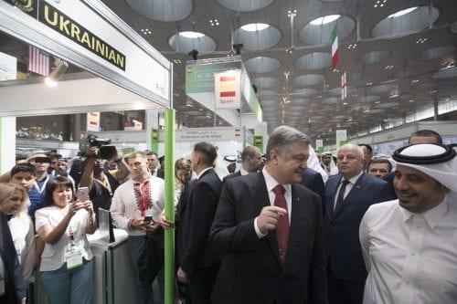 El presidente ucraniano considera importar el gas natural de Qatar…