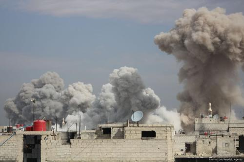 Siria: 560 muertos y 2.000 heridos en Guta en 9…