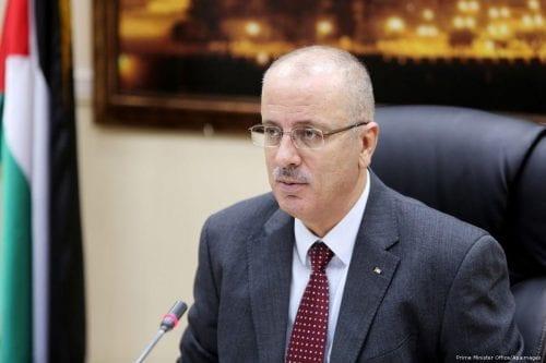 ¿Quién quiere asesinar al primer ministro palestino Rami Hamdallah?