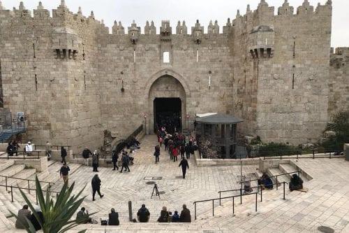 Israel convierte la Puerta de Damasco en un cuartel militar…
