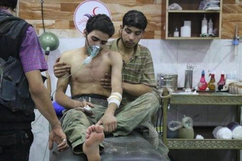 Los inspectores tienen muestras de las armas químicas sobre Douma