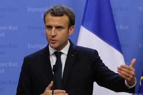 Para la Francia de Macron las líneas rojas de Siria…
