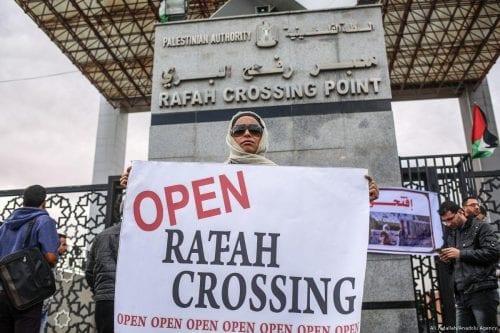 Egipto abrirá el miércoles el paso fronterizo de Gaza
