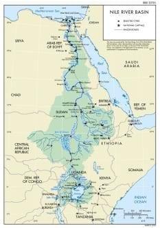 La escasez de agua en Egipto alcanza el 140%
