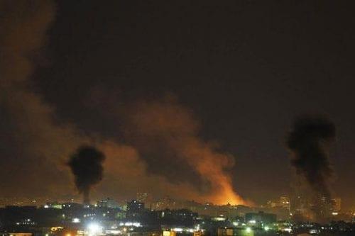 Bombardeos nocturnos: Hamás culpa a Israel de la escalada en…